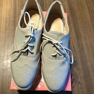 Shoes - NWT Oxford Platform/Wedge Shoes